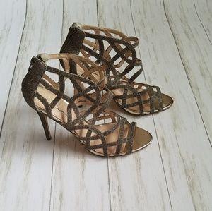 Touch of Mina Bronze Stiletto